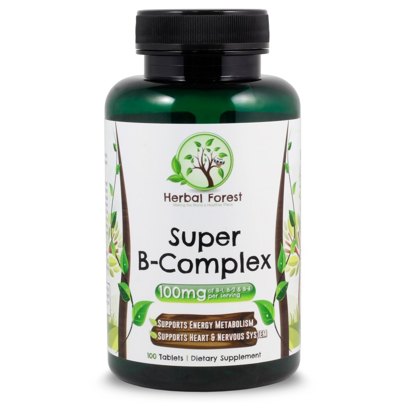 image of Herbal Forest super b complex 100mg