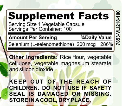 image of Herbal Forest selenium ingredients