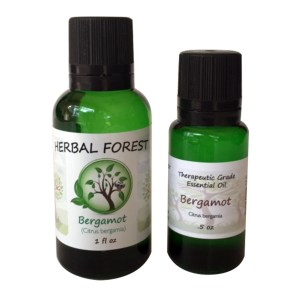 image of Herbal Forest bergamot essential oil