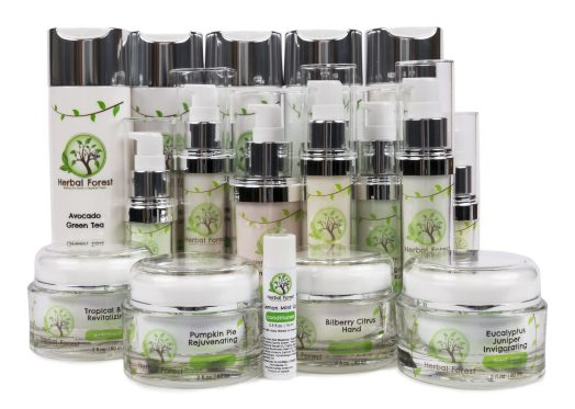 herbal forest natural skin care product line