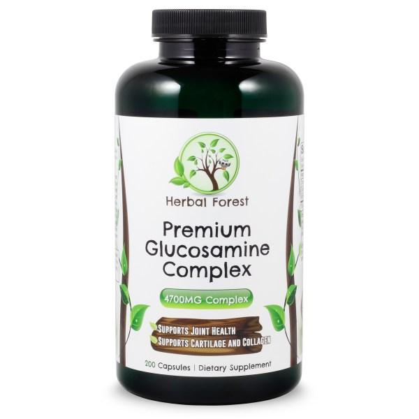 image of herbal forest premium glucosamine complex
