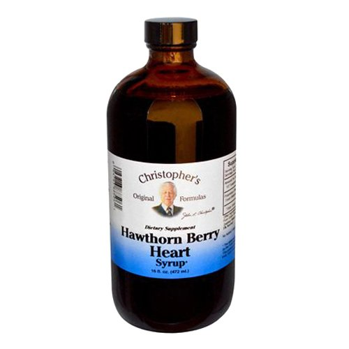 image of hawthorn berry heart syrup