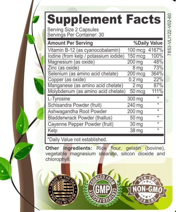 Premium Thyroid Support Ingredients