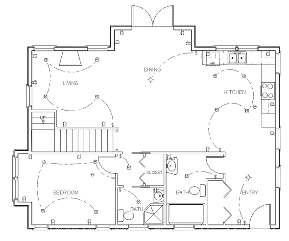 Computer House Draw Plans