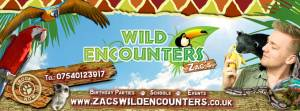 Zac's Wild Animal Show (SOLD OUT)
