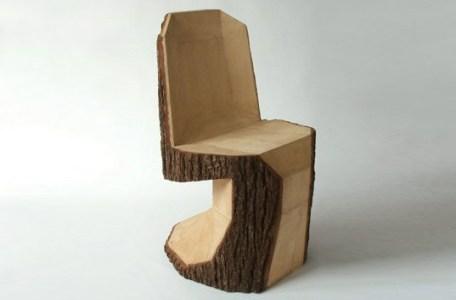 """【未乾燥材としての木材利用の方法?】素朴なつくりの家具""""ラスティック・ファニチャー""""に挑戦したい→挑戦します。"""