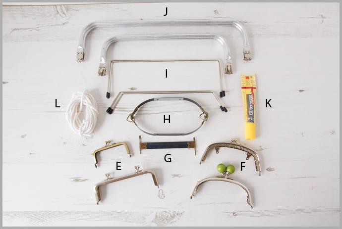 Bag Maker's Glossary – Bag Making Tools And Hardware – Bag Making Basics