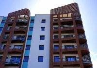 tall buildings of condominium