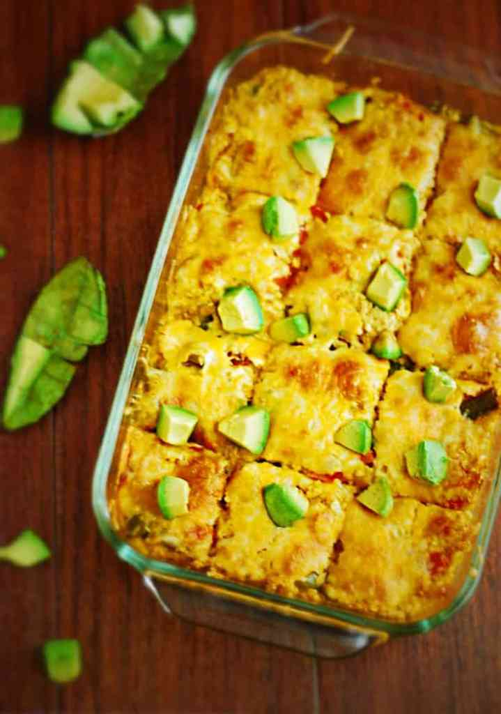 Low Carb Mexican Casserole - Low carbohydrate, low glycemic, tex mex recipe.