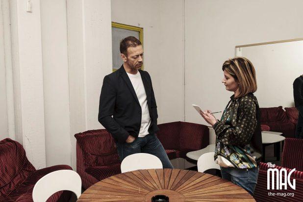Rocco Siffredi intervistato da Sandra Biscarini a Città di Castello