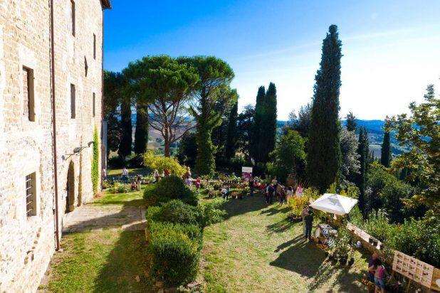 L'evento Herbae Volant Fructus Manent a l'Abbazia di Montelabate evento organizzato da Simona Checcaglini