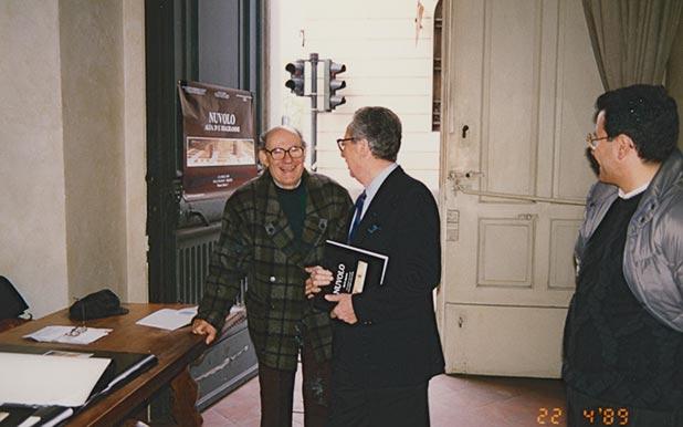 Nuvolo Giorgio Ascani e Marco Baldicchi nel 1989 mostra Trieste