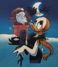 Giorgio Cavazzano- Mina e Babbo Natale