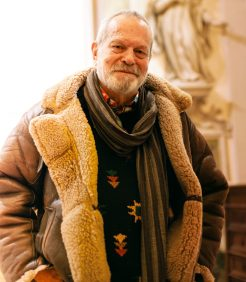 Ritratto di Terry Gilliam mentre sorride
