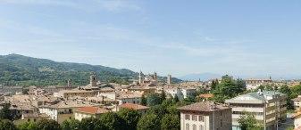 Città di Castello - Vista da Palazzo Nardi
