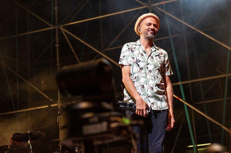 Samuel con i Subsonica sul palco del Lyrick Summer Arena di Assisi
