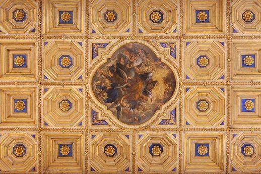 Soffitto a cassettoni del Duomo di Città di Castello