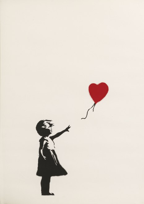 Girl-with-Balloon-2004-2005 - BANKSY