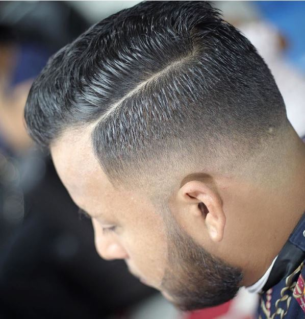 hard part and high fade