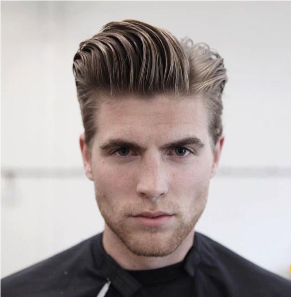natural hair slick pomp