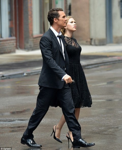 Scarlett Johansson and Matthew McConaughey