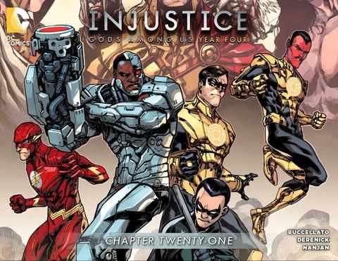 Injustice Gods Among Us Year Four #21