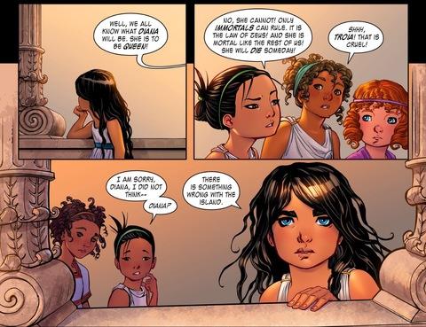 Diana senses something is wrong