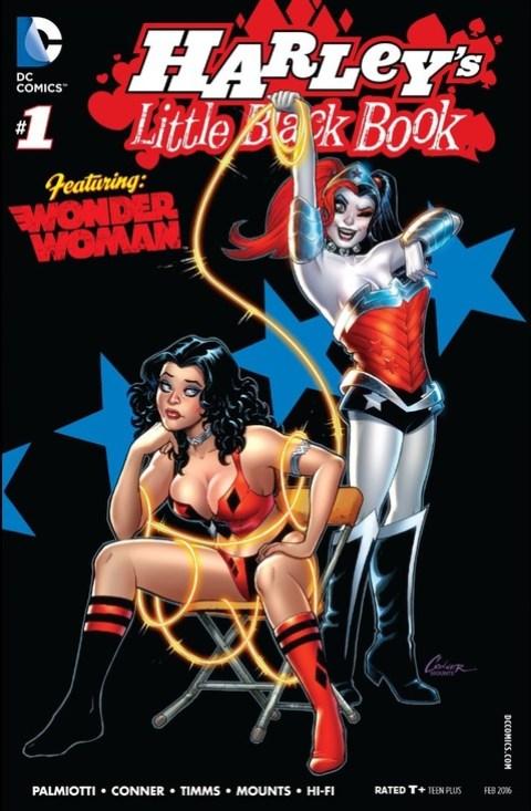 Harley Quinn's Little Black Book #1
