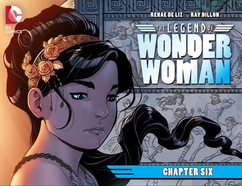 The Legend of Wonder Woman #6