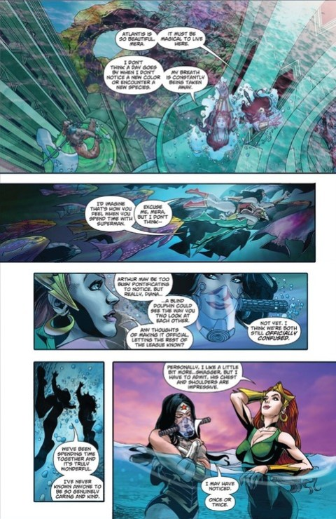 Mera and Diana have girl chats