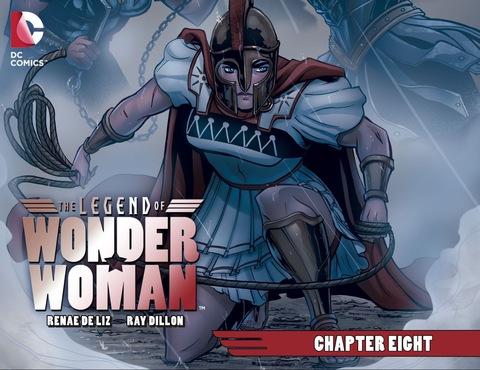 The Legend of Wonder Woman #8