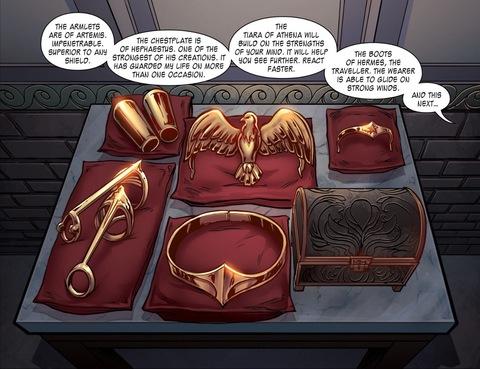 Wonder Woman's weapons