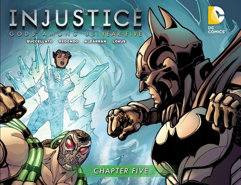 Injustice Gods Among Us: Year Five #5
