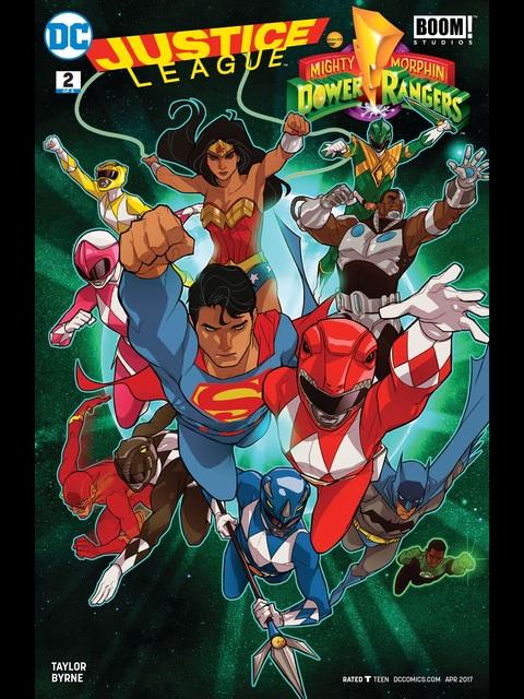 Justice League Power Rangers #2