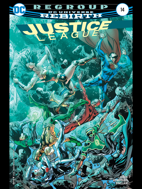 Justice League (Rebirth) #14