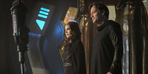 Teri Hatcher and Kevin Sorbo as Mon-El's parents on Supergirl