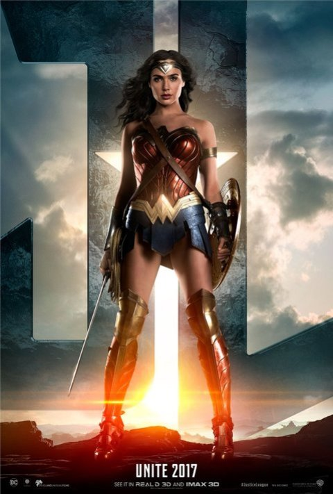 Wonder Woman Justice League poster