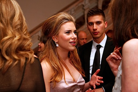 Scarlett Johansson at the White House