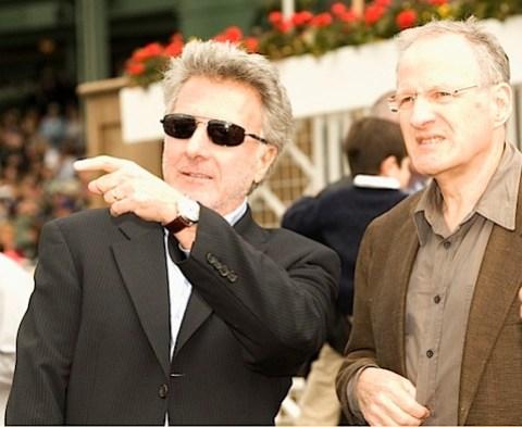 Dustin Hoffman and Michael Mann
