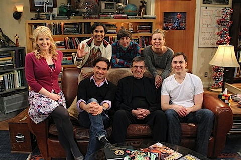 Leonard Nimoy on The Big Bang Theory