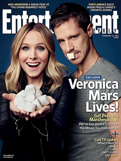 Veronica Mars lives EW cover