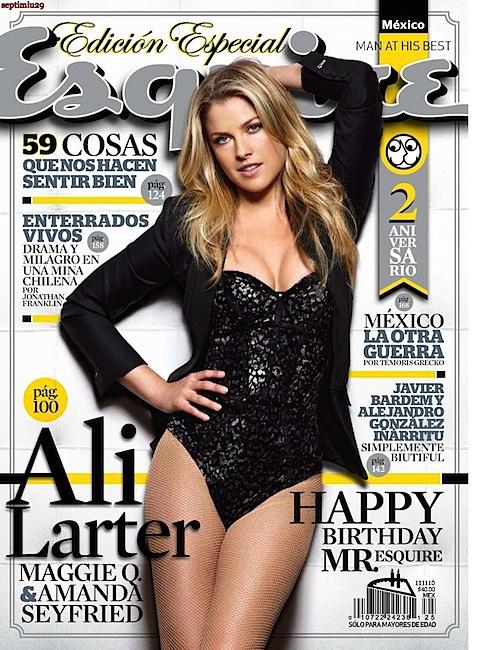 Ali Larter on Esquire Mexico's cover
