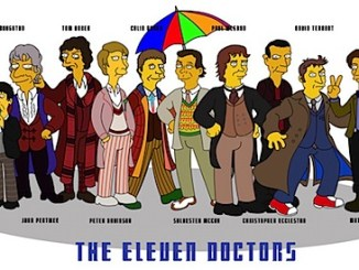 The Doctors Who Simpsonsised