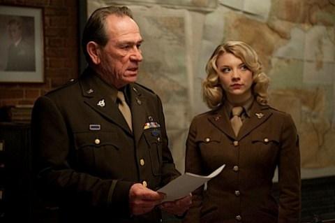 Natalie Dormer in Captain America