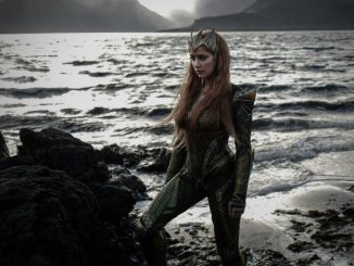 Amber Heard In Mera's Armour