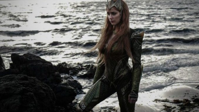 Amber Heard In Mera's Armour
