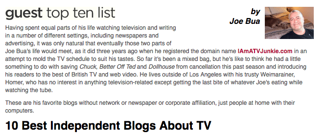 10 Top Blogs