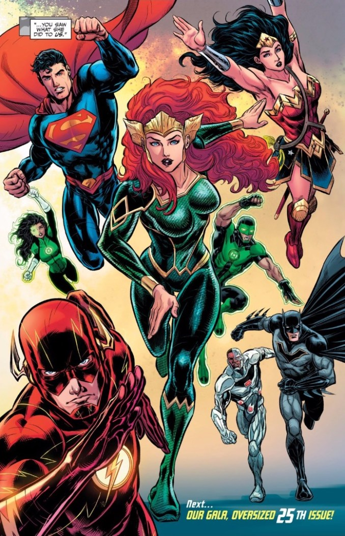 Mera joins the Justice League