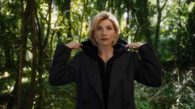 Jodie Whittaker as Doctor Who