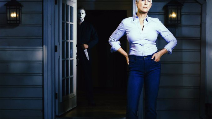 Jamie Lee Curtis in Halloween reboot